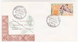 WALLIS Et FUTUNA => FDC => 20eme Anniversaire De L'UNESCO - MATA-UTU Et SIGAVE - 1966 - FDC