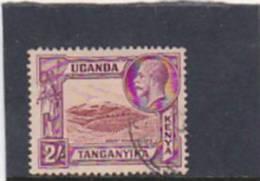 Kenya Uganda  Tanganyka  1935 King George 2 Shillings Used - Kenya, Uganda & Tanganyika
