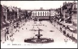 Bordeaux - Les Allées De Tourny - ( Animée ) . - Bordeaux