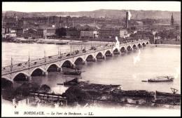 Bordeaux - Le Pont - ( Animée ) . - Bordeaux