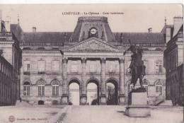 LUNEVILLE LE CHATEAU COUR INTERIEUR BON ETAT - Luneville