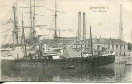 N°24939 -cpa Bordeaux -les Docks- - Handel
