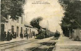 R16536 Cpa 16 Jarnac - La Gare - Jarnac