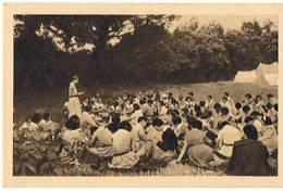 CAMP De CHEFTAINES    PALABRE MATINALE - Scoutismo