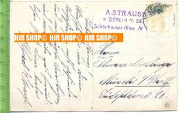 Karte Von A. Strauss, Autograf,--- Dajos Béla's Orchestra, Voc. Alfred Strauß - Hören Sie Zu! (Schlager ... (Google) - Autogramme & Autographen
