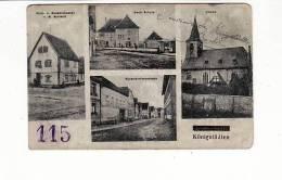 "Allemagne - Bauschheim KONIGSTADTEN / Tampon ""115"" Régiment Militaire ? - Zonder Classificatie"