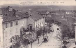 CPA 15 @ MAURS @ Tour De Ville - Grand Hôte @ Devant L'Hôtel Du Commerce Combatalade - France