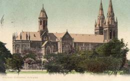 Anglican Cathedral, Adelaide, South Australia - Posted 1906 - See 2nd Scan - Adelaide