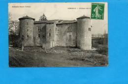 07 VERNOUX : Château Des V           (pli Dans Le Milieu ) - Vernoux