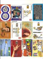 95 Télécartes Dont Quelques Raretés, Peu De Double 8 étrangères - Unclassified
