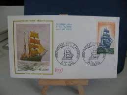FDC - Voilier Terre Neuvas - 35 Dinard - 6.5.1972 Coté 3 € (2013) - 1970-1979