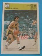 DAMIR SOLMAN KK Jugoplastiika - Yugoslavia Vintage Card Svijet Sporta * Basketball Basket-ball Baloncesto Pallacanestro - Sports
