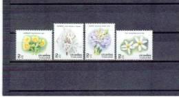 THAILAND  , 1996 , ** , MNH , Postfrisch , Mi.Nr. 1734 A - 1737 A - Thailand