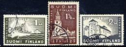 FINLAND 1929 700th Anniversary Of Turku Set Fine Used.  Michel 140-42 - Finland