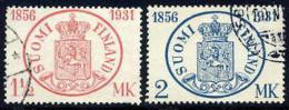 FINLAND 1931 Stamp Anniversary Used.  Michel 167-68 - Used Stamps
