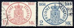 FINLAND 1931 Stamp Anniversary Used.  Michel 167-68 - Finland