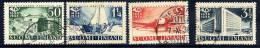 FINLAND 1931 300th Anniversary Of Finnish Post Used.  Michel 213-16 - Finland