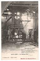 81 TARN SAINT-JUERY Un Marteau-Pilon, Société Du Saut-du-Tarn, Usine, Ouvriers, Publicité Au Dos - Villefranche D'Albigeois