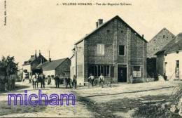 CPA 89  VILLIERS NONAINS VUE DES MAGASINS SOLIVEAU      PARFAIT ETAT - France