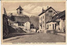 BOGNANCO S. LORENZO (VB) - SCORCIO  - F/G - V: 1940 (ALBERGO ROSSI) - Verbania