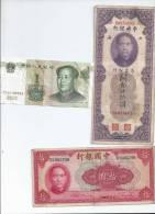 Lot De Billet Chinois - Chine
