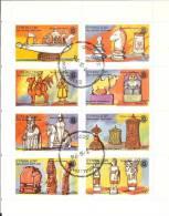 Eynhallow - Scotland - Rotary Anniversary - Mini-sheet Of 8 - Viñetas De Fantasía
