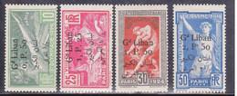 GRAND LIBAN - YVERT N° 45/48 * - COTE = 160 EUROS  - JEUX OLYMPIQUES - Grand Liban (1924-1945)