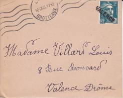 CACHET LINEAIRE - Lot De 4 - Voir Scanne - Valence Maisons-Alfort - Nevers-Gare - 1921-1960: Modern Tijdperk