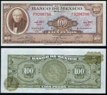 Mexico P 61 H - 100 Pesos 29.12.1972 - UNC - Mexico