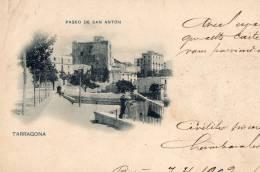 ESPAGNE - TARRAGONA - Paseo De San Anton - Tarragona
