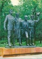 Kaunas - Denkmal Den Vier Kommunisten Von Napoleonas Petrulis Und Bronius Vysniauskas - Lituanie