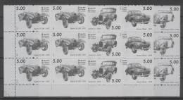 Sri Lanka (2011) - Set In Blocks Of 6  /  Cars - Voitures - Coches - Jaguar - Austin - Morris Minor - Rolls Royce - Auto's