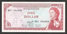 East Carribean *** 1 Dollar Type 1965 *** P.13g *** Sign. 10 *** UNC (Neuf) - Caraïbes Orientales