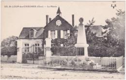 Saint Loup Des Chaumes (Cher) La Mairie - Unclassified
