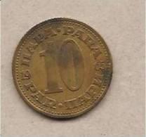 Jugoslavia - Moneta Circolata Da 10 Para - 1965 - Yugoslavia