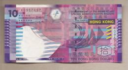 Hong Kong - Banconota Circolata Da 10 Dollari - 2002 - Hong Kong