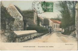 95 AUVERS SUR OISE Chaumières Des Vallées 1913 - Auvers Sur Oise