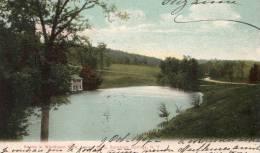 Scene In Woodlawn Park,Lever Lake,Saratoga Springs,N.Y. - Saratoga Springs