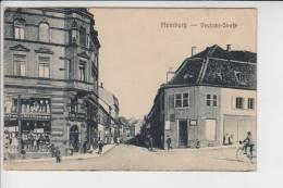 6650 HOMBURG / Saar, Deutsche Strasse, Briefmarke Fehlt - Saarpfalz-Kreis