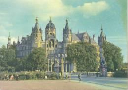 Allemagne - Mecklembourg Poméranie Occid - Schwerin/Mecklenburg-Schlöss Pädagogische Schule - Chäteau(école Pédagogique) - Schwerin
