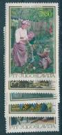 Yugoslavia Republic, Art 1967 Mi#1257-1261, Mint Hinged - 1945-1992 Socialist Federal Republic Of Yugoslavia