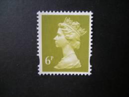 G.B.- 1993 - N. 1672, Elizabeth, 6 P. Green Yellow, MNH** Postfrish, Perfect - Ungebraucht