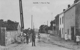JUPRELLE - Rue Du Tige - Superbe Carte Très Animée - Juprelle