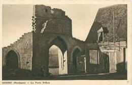 24 - DOMME - La Porte Delbos (Ed. Francis B., Domme) - France