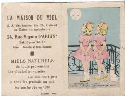 CALENDRIER 1950 - La Maison Du Miel - Paris 9e - Calendriers
