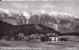 Cpsm Hotel Lansersee Gegen Die Nordkette Bei Igls. Innsbruck  Tirol - Ohne Zuordnung