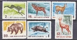 Bulgaria 1004-9   *  FAUNA - 1945-59 People's Republic