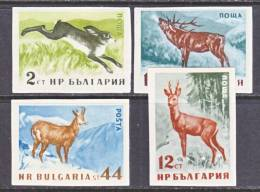 Bulgaria 1004a +  Imperf.    *  FAUNA - 1945-59 People's Republic