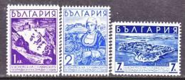 Bulgaria 301-3    * - 1909-45 Kingdom