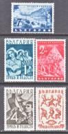 Bulgaria 409-13    * - 1909-45 Kingdom